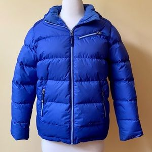 Marmot 700 Fill Down Royal Blue Puffer Jacket